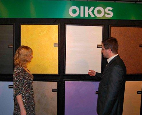 Официальный представитель декоративных покрытий OIKOS в Молдове