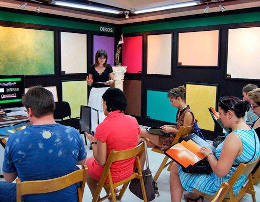 В «Decor Center OIKOS » в Кишинёве, состоялся семинар для дизайнеров интерьеров